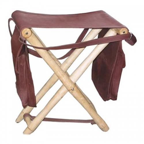 Leather Hunting Stool