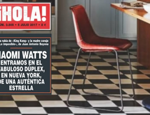 Naomi Whatts – Girón Chair – Hola Magazine