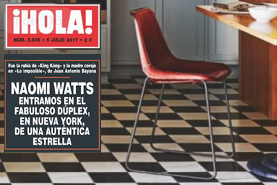 Naomi Watts SolLuna Chair Ft