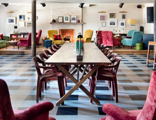 Soho House New York with our Armchair Cheap & Chic