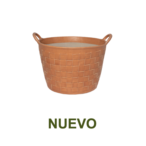 1 PN959STC Small braided leather basket in natural-es