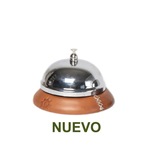 1 PN969C Hotel Bell in natural leather-es