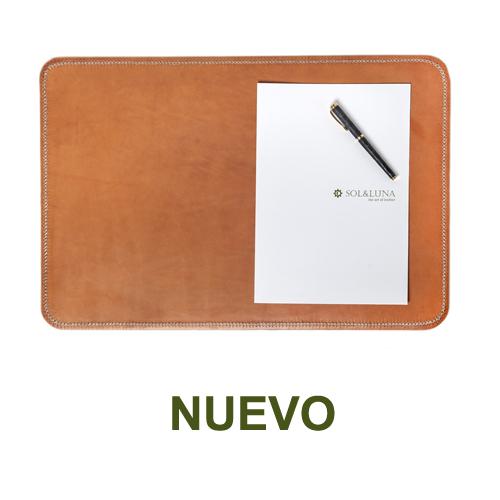 1 PN983C Leather desk mat in natural-es