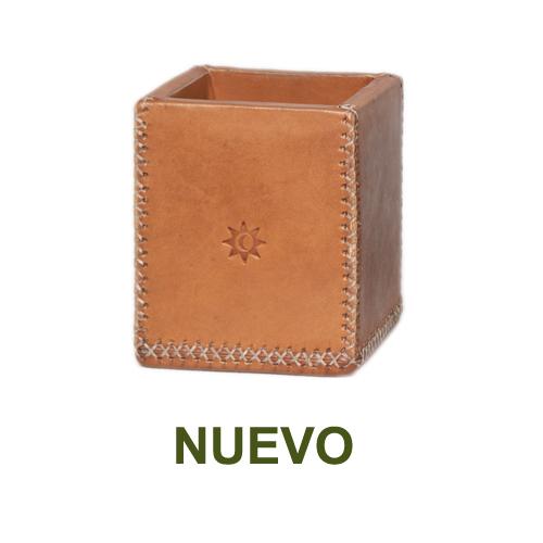 1 PN984C Pencil case natural leather-es
