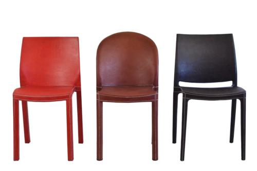 sillas de cuero en Madrid