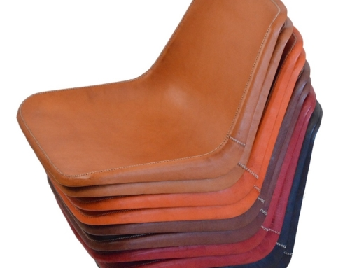 There is a story behind our leahter chairs