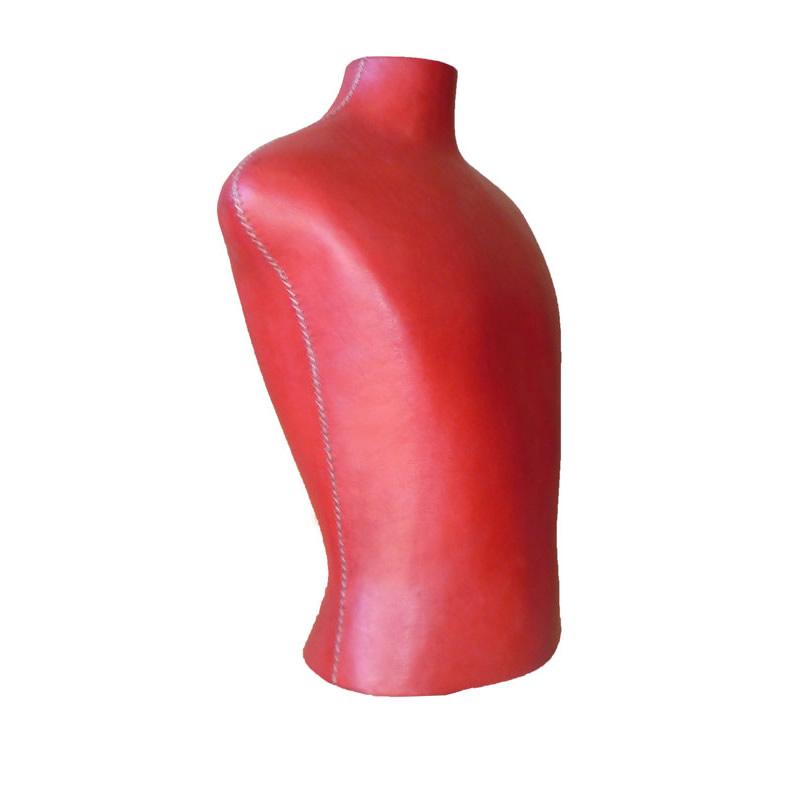 Imagen silhoueteado de un Maniquí Joven forrado en cuero rojo PN950Y de Sol&Luna