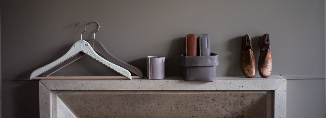 Taupe leather HO by SolLuna