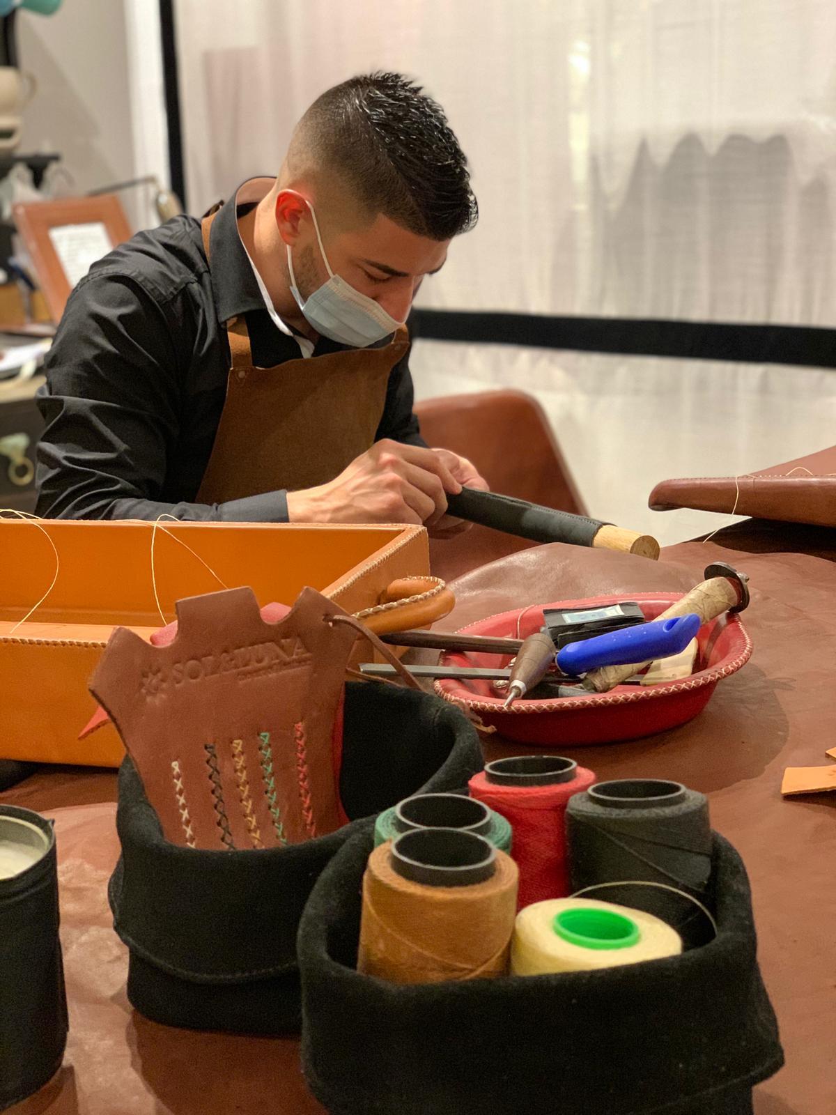 artesania cuero lujo madrid