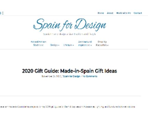 Spain for Design. Noviembre 2020