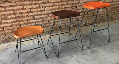 3 chairs from the new 2018 collection