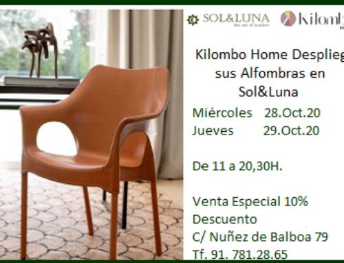 Kilombo Home despliega sus alfombras en la tienda Sol&Luna